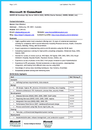 Best Consulting Resume by Incredible Formula To Make Interesting Business Intelligence Resume