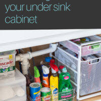 the kitchen sink cabinet organization kitchen organization simple ways to declutter your