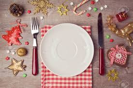 dinner background with rustic decorations view from