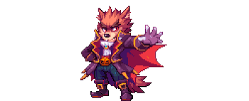 butler wolf of pixels