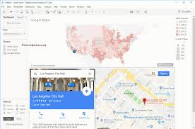 Google Maps Los Angeles How To Use Google Maps In Tableau