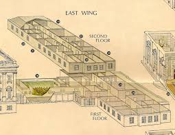 east wing floor plan white house home design and style