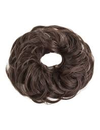 hair scrunchie new wavy synthetic hair scrunchie elastic band hair
