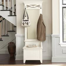 Black Hall Tree Bench Furniture Corner Hall Tree Storage Bench With Shoes And White