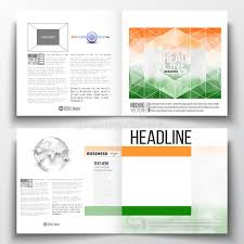 ind annual report template set of annual report business templates for brochure magazine