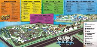 Map Of Orlando Theme Parks by Silverwood Theme Park Thrillz The Ultimate Theme Park Review Site