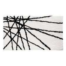 White Accent Rug Black And White Accent Rug Amazon Com