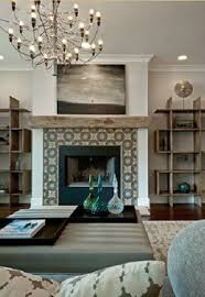 Interior Design In Living Room Before And After Living Room And Dining Room Makeover Shelving
