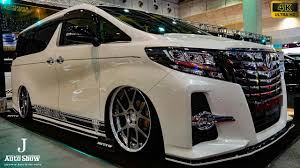 world auto toyota 4k mz speed toyota 30 alphard modified osaka auto messe 2017