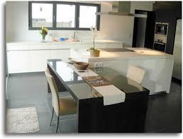 id ilot cuisine kitchens id ilot cuisine avec table 2017 avec ilot central