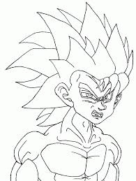 dragon ball z coloring pages pixelpictart com