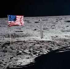 Flag Im Verschwörungen Wurde Die Mondlandung Auf Basis Area 51 Gestellt