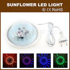 stage lighting mounting bars 8w 48leds rgb crystal sunflower stage effect light ufo led l wall