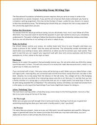 cover letter college scholarships essay examples college