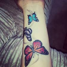 20 best beautiful butterfly tattoos on wrist images on