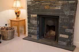 stone fireplace firehouse