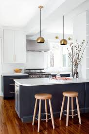 55 best kitchen inspiration images on pinterest kitchen ideas navy and white cabinets and marble countertops in kitchen designed by elizabeth lawson design
