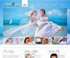 free personal wedding websites best wedding website templates html website templates