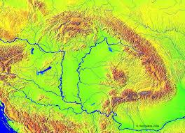 Satellite View Maps Satellite View Of The Carpathian Basin