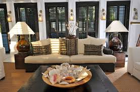 Traditional Interior Shutters How Much Are Plantation Shutters Living Room Tropical With Black