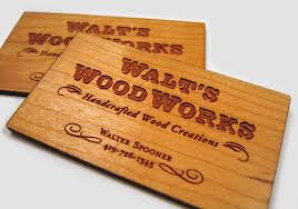17 thick wooden business cards business card design inspiration