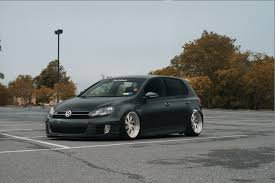 volkswagen golf wheels fully custom vw golf mk5 fitted with large rotiform custom wheels