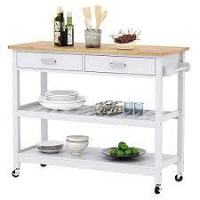kitchen storage cupboard on wheels home aesthetics wood rolling kitchen island cart trolley on