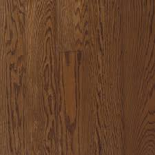 Best Prefinished Hardwood Flooring Bruce Bayport Oak Saddle 3 4 In Thick X 2 1 4 In Wide X Varying