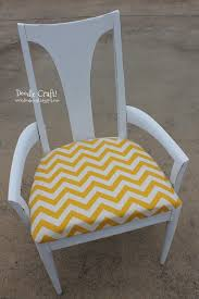 Chevron Armchair Doodlecraft Yellow And White Chevron Chair