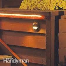 how to install deck lighting family handyman