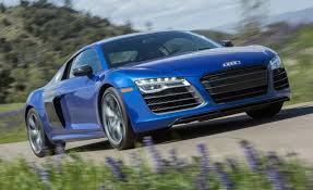 Audi R8 Blue - 2014 audi r8 v 10 plus test u2013 review u2013 car and driver