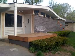 Mid Century Modern Homes by Architecture Awesome Small Porch With Furniture Deck Ideas To