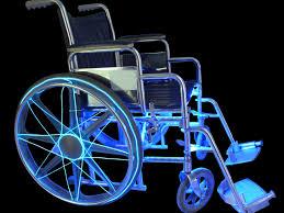 ez el wire led light wheelchair