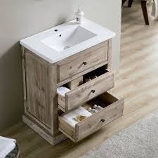 24 Vanities For Small Bathrooms by This Rustic Style Bathroom Vanity Will Be Perfect For Any Small