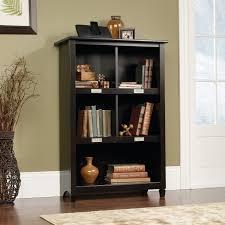 Sauder Oak Bookcase by Sauder Harbor View Bookcase Antique Black Hayneedle
