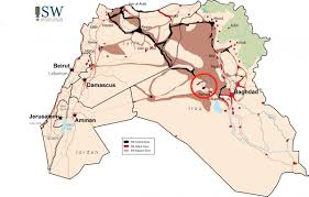 Baghdad Map The Road To Baghdad Runs Through Ramadi Business Insider