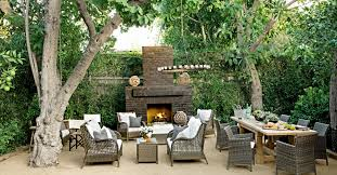 Backyard Living Ideas by Antique Chandelier Fixture And Unique Chairs Decoration With Fire