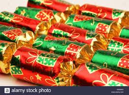 Christmas Cutout Decorations Bright Red And Green Seasonal Festive Xmas Christmas Cracker Table