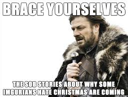 Nobody Cares Meme - oh you hate christmas nobody cares meme on imgur