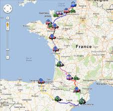 Map Of Spain And France by Spain U0026 France 2012 2 Wheels 2 Go