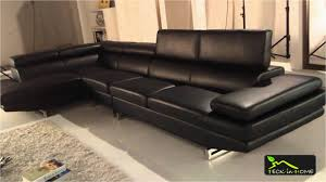 magasin canap cuir magasin canape cuir beau canapé d angle en cuir noir 4 places