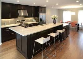 table ilot central cuisine erlot de cuisine exemple de cuisine avec ilot central cuisine