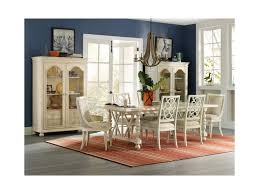 hooker dining room table hooker furniture sandcastle 5900 75510 wh slipper chair with woven