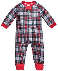family pajamas plaid pajama sets created for macy s