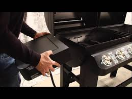 Brinkmann Dual Gas Charcoal Grill by 810 3820 S U0026 810 3821 S Assembly Instructions Youtube