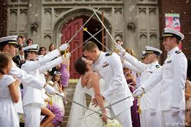 wedding arches coast coast guard wedding saber sword arch louisville ky