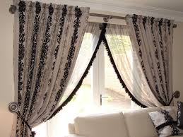 custom made slot top and voile curtains u2026 hole in the wall
