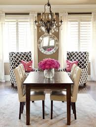 retro brown white pink traditional dining room home pinterest