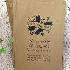 popcorn wedding favors party favor bags candy bags popcorn from smcfavors on etsy