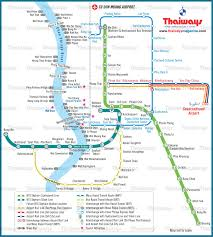 bangkok map tourist attractions bangkok metropolis map